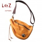 bag sewing patterns chest bag patterns PDF BXK-19  LZpattern design leather tooling leather template