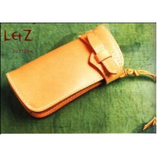 bag sewing patterns long wallet patterns PDF CCD-04 LZpattern design leather patterns leather craft leather work patterns leather patterns