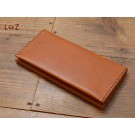 bag stitch patterns long wallet patterns PDF CCD-08 LZpattern design hand stitched leather leathercraft tools leather patterns