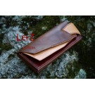 bag Pattern long wallet Patterns PDF CCD-26 leathercraft patterns leather craft leather art leather supply